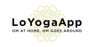 Logo App LoYoga con mandala